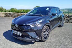 Mietwagen: Toyota C-HR Hybrid