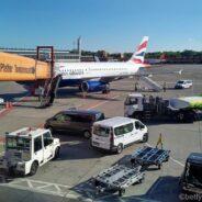 British Airways Club Europe A319: Berlin-London