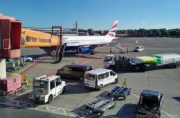 British Airways Club Europe A319: Berlin-London