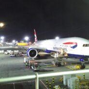 British Airways Club World Boeing 777: London-Hongkong