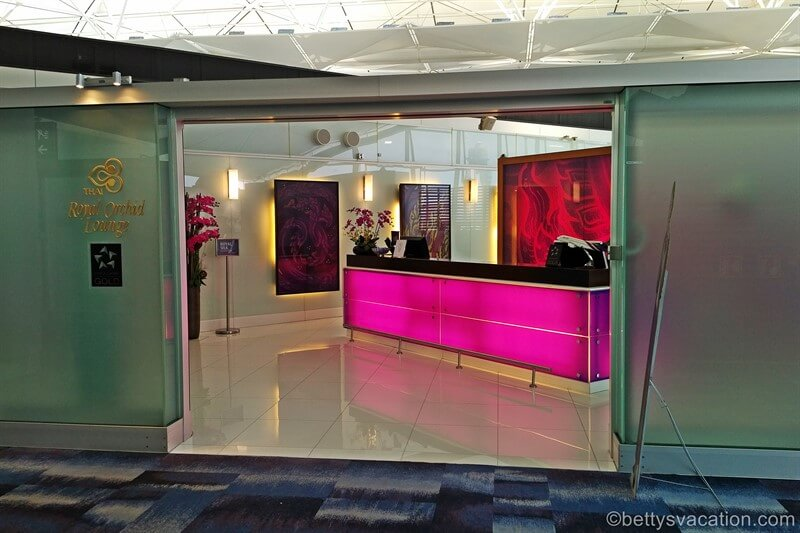 Thai Royal Orchid Business Lounge Hong Kong