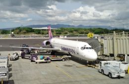Hawaiian Airlines First Class Boeing 717: Honolulu-Lihue