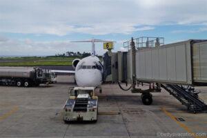 Hawaiian Premier Club Lihue & First Class Boeing 717: Lihue-Honolulu