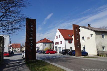 Schloss Höchstädt und die Schlacht bei Höchstädt, Bayern