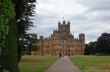 Highclere Castle, England – das echte Downton Abbey