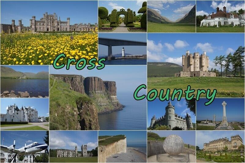 Cross Country - Frühling in Schottland - mein neuer Reisebericht