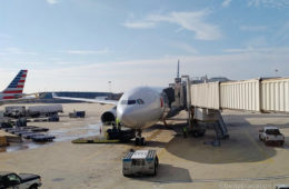 American Airlines Business Class A330: London-Philadelphia