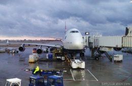 British Airways Club World Boeing 747-400: Chicago-London