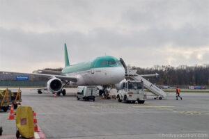 Aer Lingus Economy Class Airbus 320: Berlin-Dublin