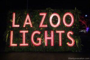 LA Zoo Lights - A Wild Wonderland of Lights, Los Angeles