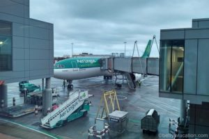 Aer Lingus Business Class Airbus 330: Dublin-New York