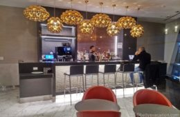 American Airlines Flagship First Dining, JFK Airport, New York