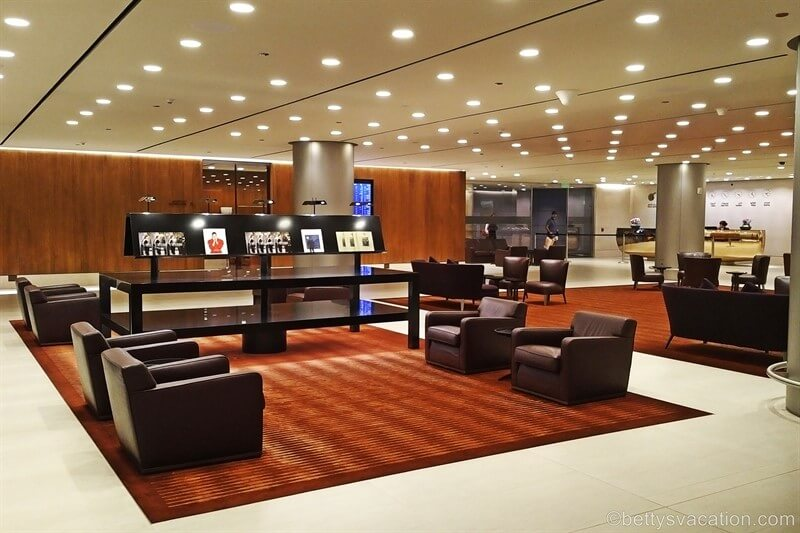 Qatar Business Class Arrival und Arrival Lounge