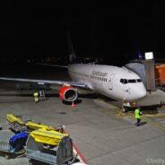 SAS Plus Boeing 737: Berlin-Stockholm