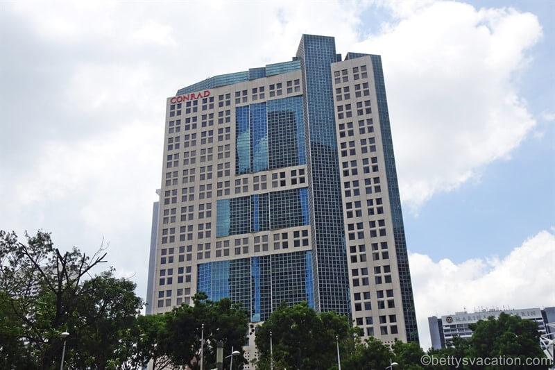 Conrad Centennial Singapore Hotel, Singapur