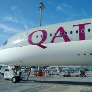 Qatar Airways Business Class Airbus 350: Doha-Singapur