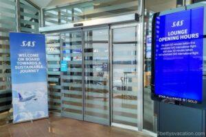 SAS Lounge Flughafen Stockholm Arlanda