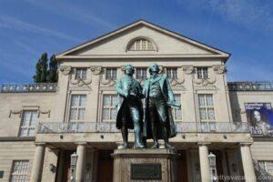 Stadtrundgang durch Weimar, Thüringen - Teil 1