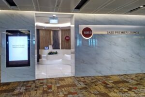 SATS Premier Lounge Terminal 1, Changi Airport, Singapur