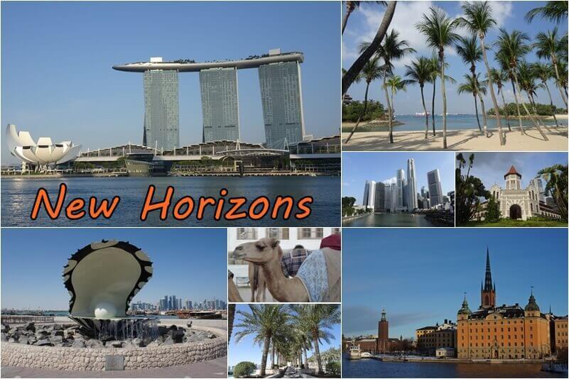 New Horizons - über Umwege nach Singapur – mein neuer Reisebericht