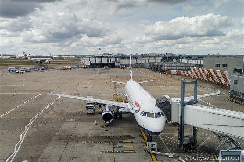 British Airways Club Europe Airbus 320: London (LHR) - Gibraltar (GIB) - London (LGW)