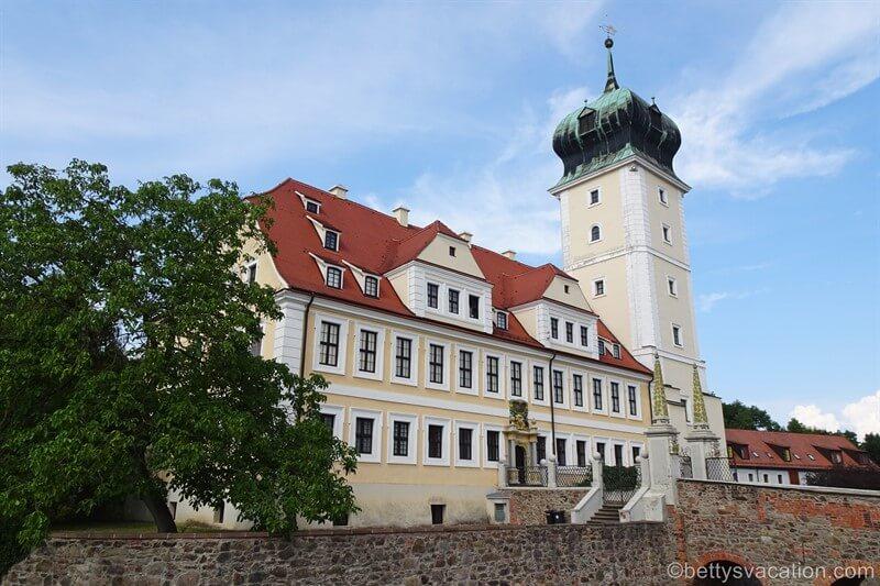 Barockschloss Delitzsch, Sachsen