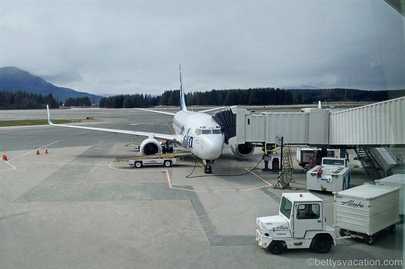Alaska Airlines Milk Run, Teil 3