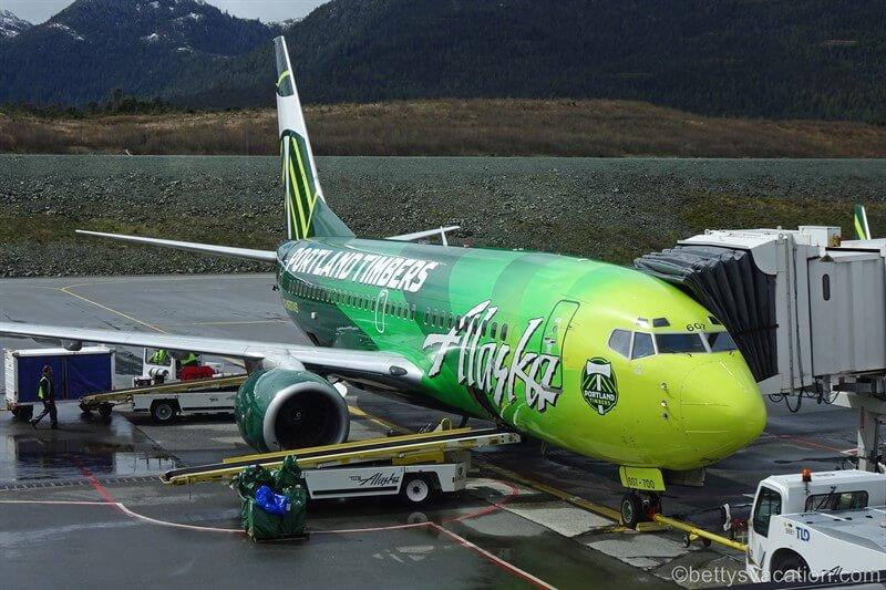 Alaska Airlines Milk Run, Teil 4