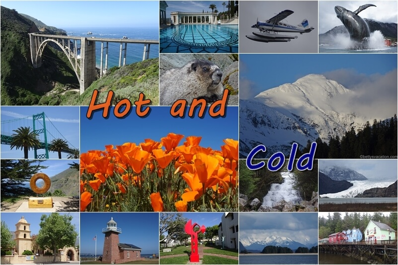 Hot and Cold - Kalifornien & Alaska - mein neuer Reisebericht