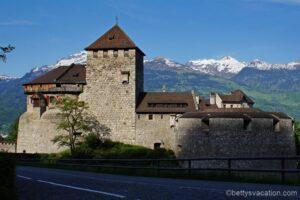 Kleine Rundfahrt durch Liechtenstein