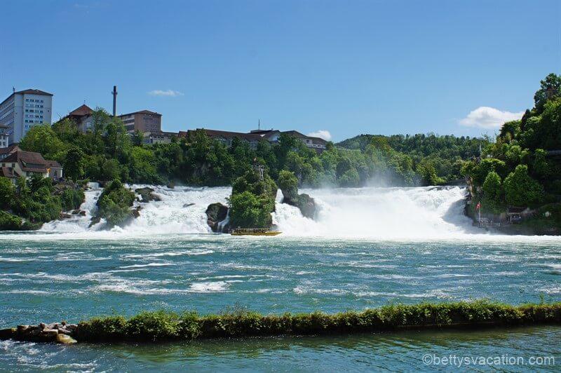 Rheinfall von Schaffhausen, Schweiz