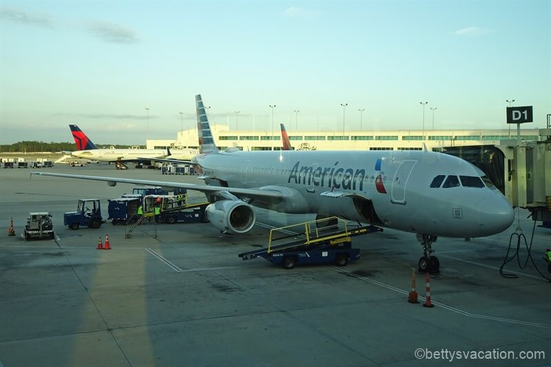 American Airlines Economy Class Airbus 321: Ft. Myers-Charlotte