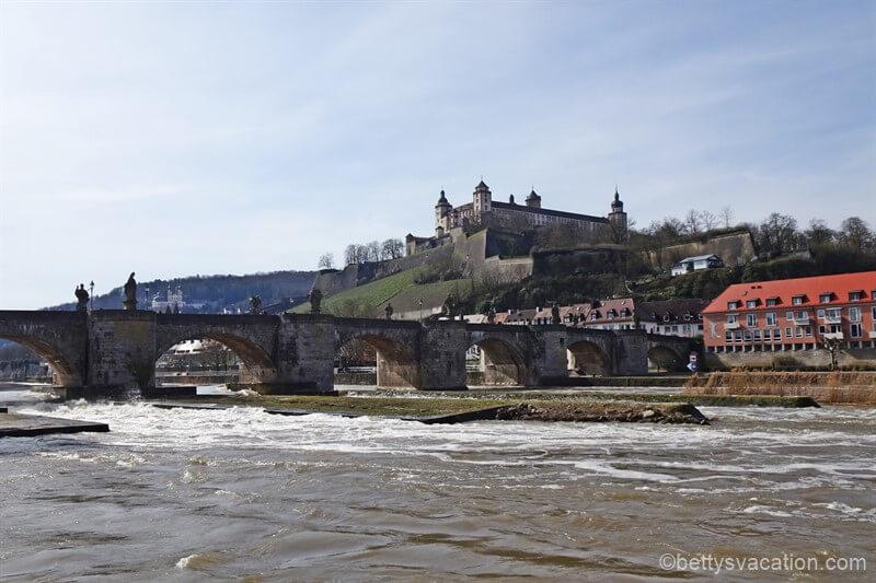 Stadtrundgang durch Würzburg, Bayern