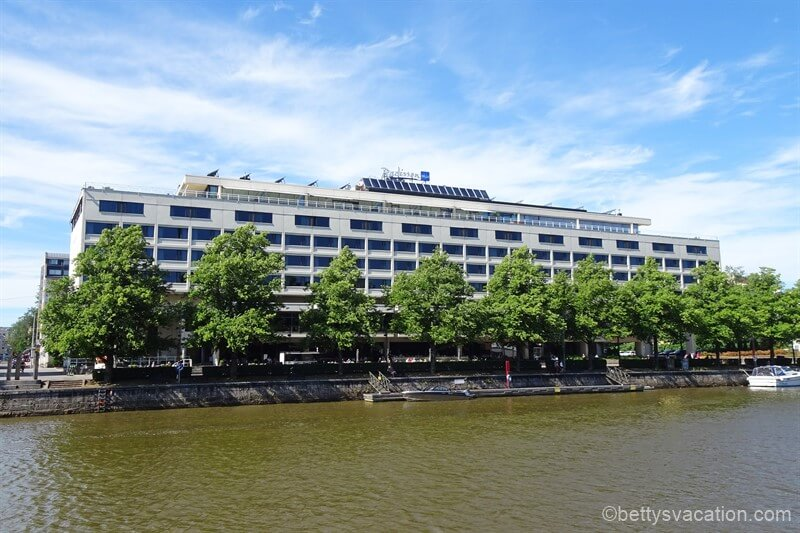 Radisson Blu Marina Palace Hotel, Turku, Finnland