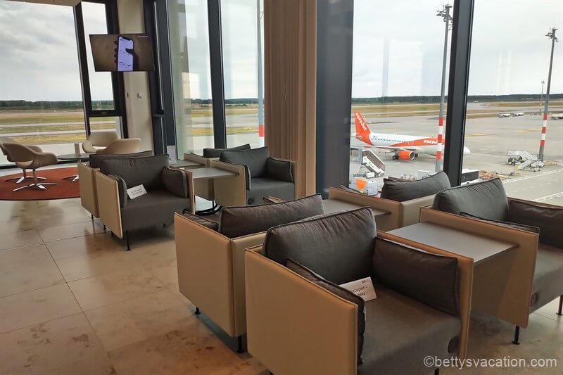 Lounge Tempelhof, Flughafen Berlin-Brandenburg BER
