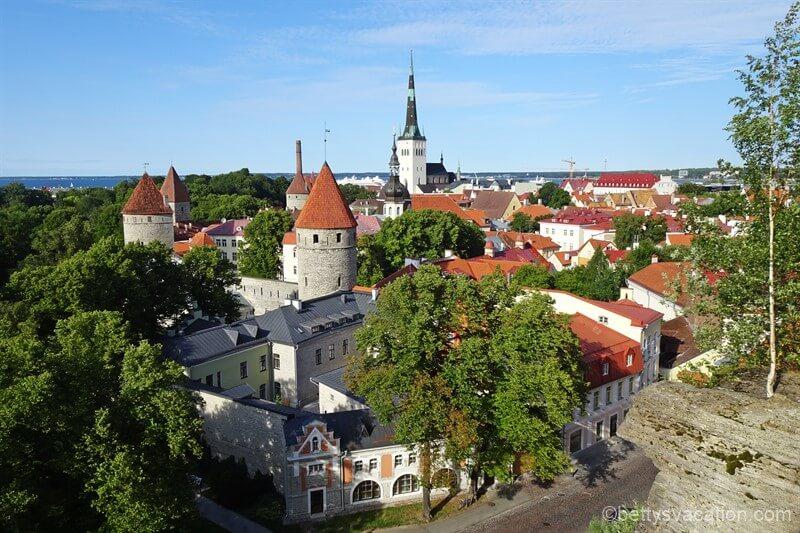 Hoch hinaus in Tallinn – der Tallinner Domberg