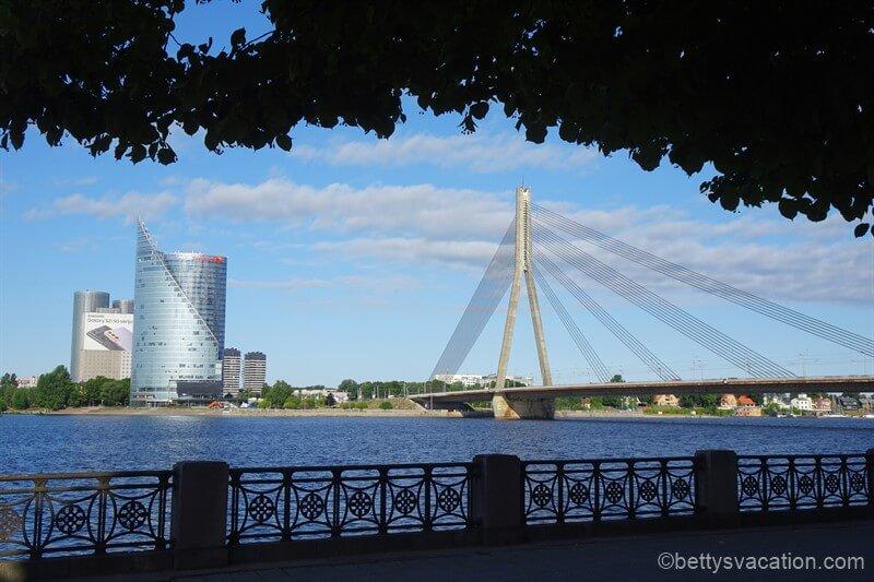 Stadtrundgang durch Riga, Lettland, Teil 1