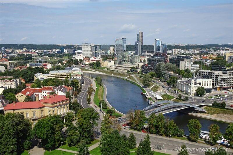 Stadtrundgang durch Vilnius, Litauen, Teil 1
