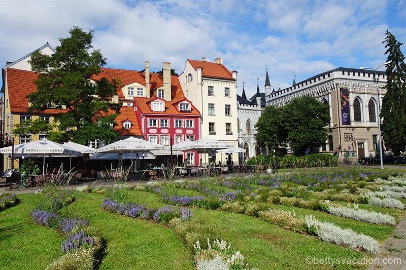 Stadtrundgang durch Riga, Lettland, Teil 2