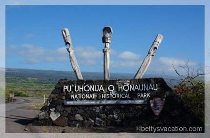 Pu'uhonua O Honaunau National Historical Park, Hawai'i