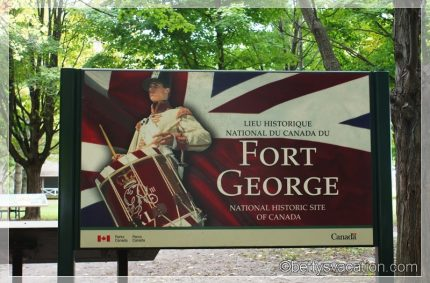 Fort George National Historic Site of Canada