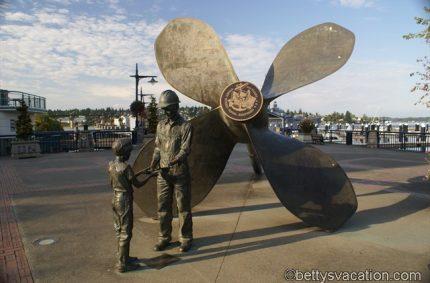 Zu Besuch bei der amerikanischen Marine, Bremerton, WA
