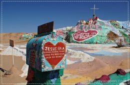 Salvation Mountain & Slab City, Kalifornien