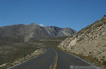 Unterwegs auf der Straße zu den Sternen, Mt. Evans, Colorado